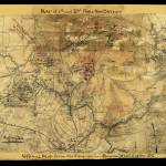 """Sneeden Map of 1st & 2nd Battles of Bull Run"" by burnishedbronzepress"