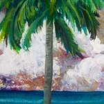 """Tropical Palm"" by paintingsbygretzky"