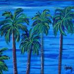 """Pacific Palms"" by paintingsbygretzky"