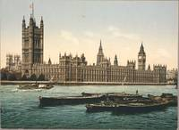 HOUSES OF PARLIAMENT 1895