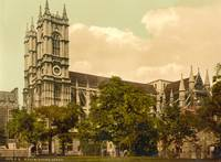 WESTMINSTER ABBEY 1895