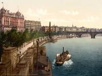 THAMES EMBANKMENT 1895