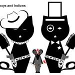 """Cowboys and Indians"" by NoodleKittens"