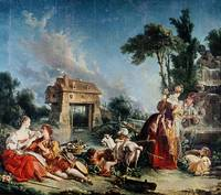 Fountain of Love by Francois Boucher