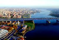Overlooking the Golden Horn, Istanbul, Turkey 3