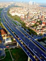 Trans-European Motoway - Asian Side, Istanbul, Tur