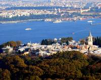 Topkapi Palace and the Bosphorus, Istanbul, Turkey