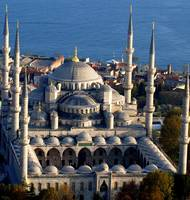 The Six Minerets of Sultanahmet (Blue) Mosque, Ist