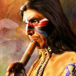 """Native Musician Painting"" by Snaparazzi"