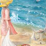 """""""SEARCHING FOR SHELLS"""" by PAINTING"""