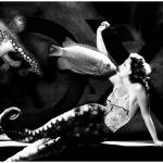 """Amphitrite Goddess of the Sea_B&W"" by jruiz"