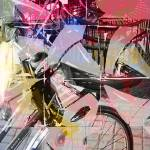 """ChinaDreamBicycle_I"" by SuzanneSilkCollection"