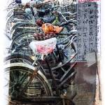 """China_Bicycles_III_"" by SuzanneSilkCollection"