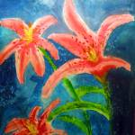 """Stargazer Lilies"" by LJdesigns"