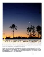 Telephone Wire Moon