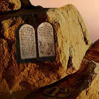 Atop Mount Sinai by I.M. Spadecaller
