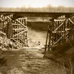 """OldTime Wooden Trestle"" by NorthernStarGifts"