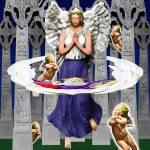 """MY IRISH ANGEL"" by keithdillondigitalartist"