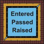 """""""Entered Passed Raised No 3"""" by ByThePlumb"""