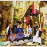 """Arab Merchants Of Jerusleum"" by tedazrielgraphicart"