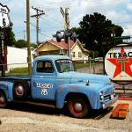 """Route 66 - Gas Station with ""Watercolor"" Effect"" by Ffooter"