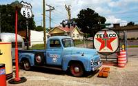 Route 66 - Gas Station with