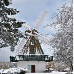 """Windmill in the Snow"" by CaptureLife"