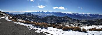 Sierra Mountains Panorama