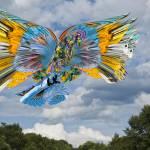 """Freedom in Flight"" by LessardArt"