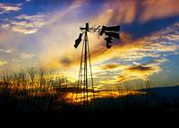 Sunset-with-Broken-Windmill