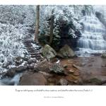 """Whiter Than Snow (waterfall and scripture)"" by BrianDunne"