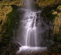 Lowland waterfall