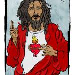 """Jesus With Heart"" by tBaneArt"