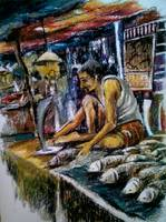 CALCUTTA FRESH FISH MARKET