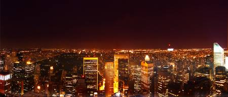 NYC Night Panorama
