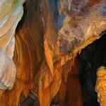 """Cave Cheddar Gorge stalactites and stalagmites"" by JenniferLaskerWhite"