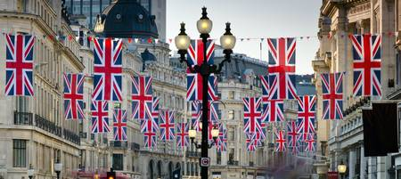 Royal Wedding - Regents Street