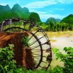"""Bamboo water wheel"" by MotHaiBaPhoto"