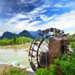 """Bamboo water wheel"" by MotHaiBaPhoto"