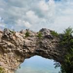 """Mackinaw Island Arch Rock"" by garthglazier"