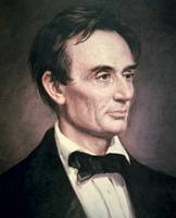 Portrait of Abraham Lincoln by Healy