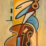 """Upright Bass"" by chriscartledge"