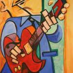"""Jazz Guitar 2"" by chriscartledge"