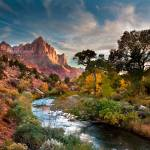 """Twilight On The Virgin River (Landscape)"" by pbk"