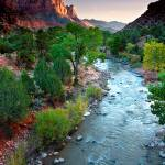 """Twilight On The Virgin River"" by pbk"