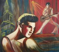 Elvis Reflecting