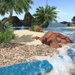 """Beach paradise island"" by Anatomico"