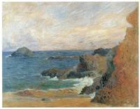 Seascape by Paul Gauguin