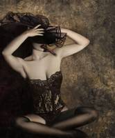 Sensuality in Sepia - Self Portrait
