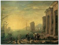 Morning in the Harbor by Claude Lorrain